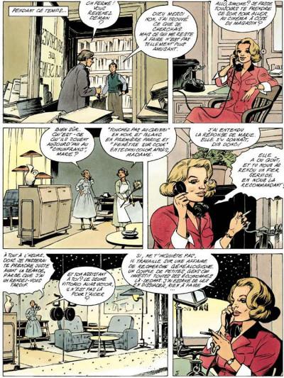 Page 5 Agence hardy tome 2 - la trace pâle