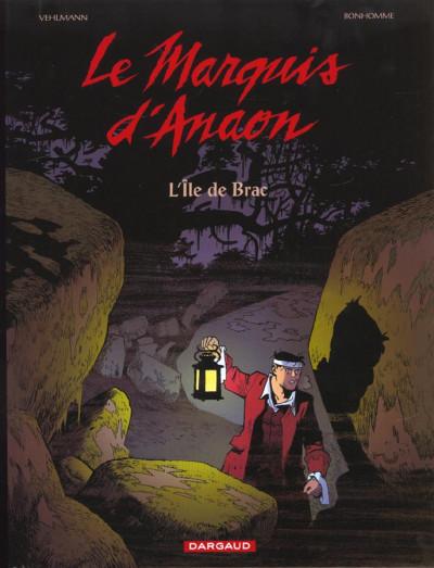 Couverture Le marquis d'Anaon tome 1 - la porte de l'au-delà
