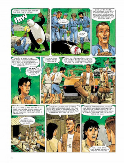 Page 2 Bételgeuse tome 3 - l'expédition