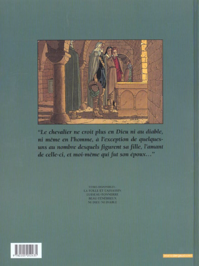 Dos plume aux vents tome 4 - ni dieu ni diable (grand format)