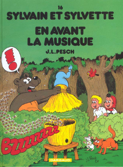 image de Sylvain et sylvette tome 16 - en avant la musique