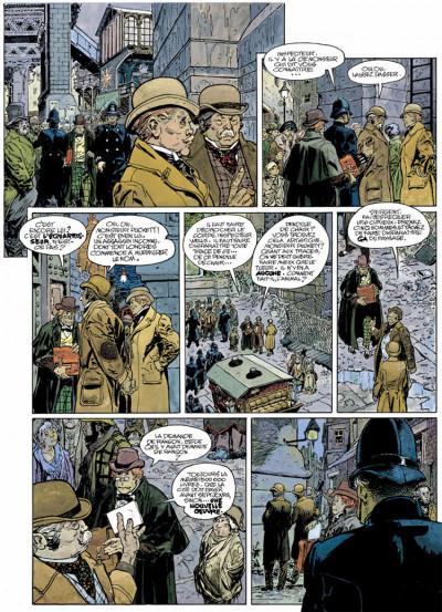 Page 2 Le méridien des brumes tome 1 - aubes pourpres