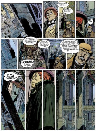 Page 3 Le méridien des brumes tome 1 - aubes pourpres