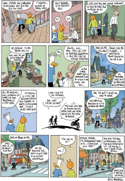 Page 1 Les formidables aventures sans lapinot tome 3 - cyberculture mon amour