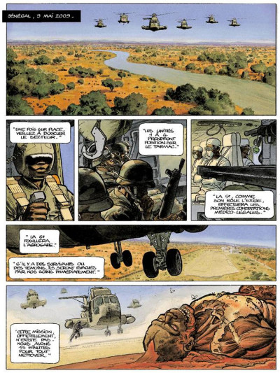 Page 1 Apocalypse mania tome 1 - couleurs spectrales
