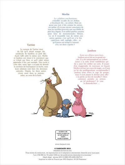 Page 2 Merlin tome 5 - tartine et iseult
