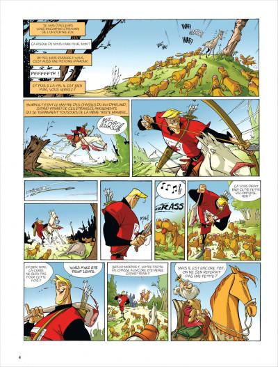 Page 4 Merlin tome 5 - tartine et iseult