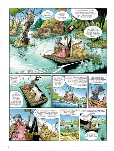 Page 6 Merlin tome 5 - tartine et iseult