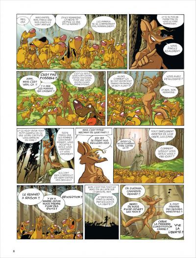 Page 8 Merlin tome 5 - tartine et iseult