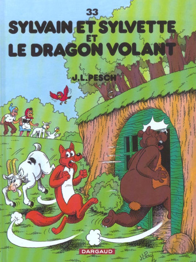 image de Sylvain et sylvette tome 33 - le dragon volant