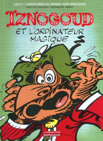 Couverture iznogoud tome 6 - iznogoud et l'ordinateur magique