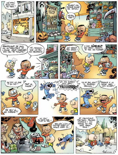 Page 4 Moustic tome 3 - petits frissons d'halloween