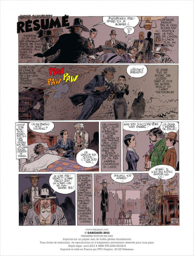 Page 2 Blueberry tome 27 - ok corral