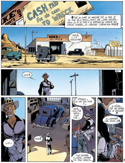 Page 1 Dixie road - Intégrale tome 1 à tome 4