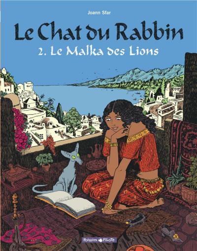 image de Le chat du rabbin tome 2 - la malka des lions