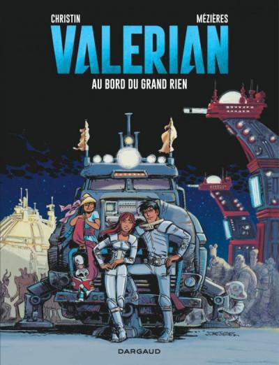 Couverture Valérian tome 19 - au bord du grand rien