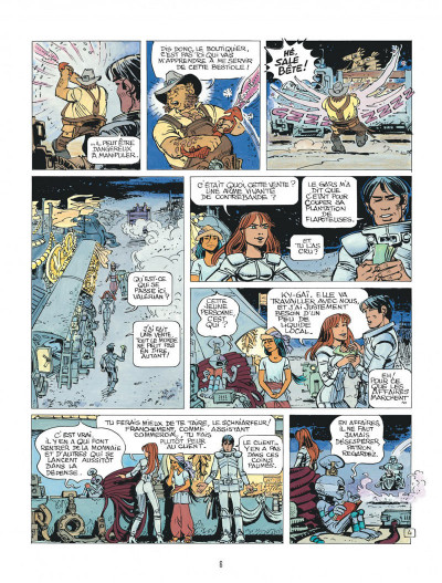 Page 6 Valérian tome 19 - au bord du grand rien