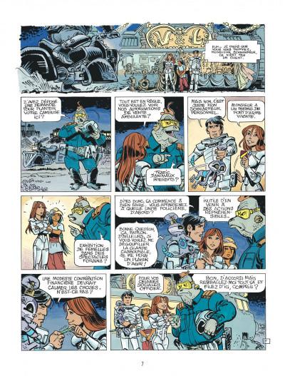 Page 7 Valérian tome 19 - au bord du grand rien