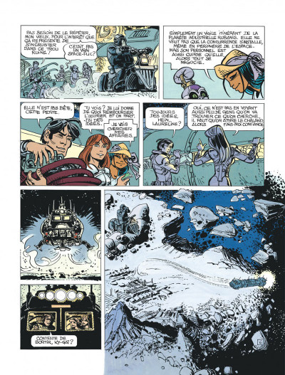 Page 8 Valérian tome 19 - au bord du grand rien