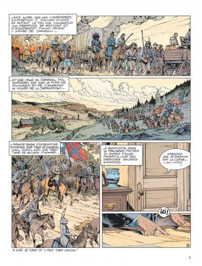 Page 5 La jeunesse de blueberry tome 14 - le boucher de cincinnati