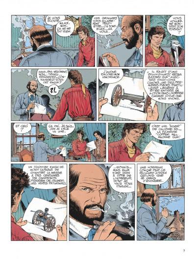 Page 7 La jeunesse de blueberry tome 14 - le boucher de cincinnati