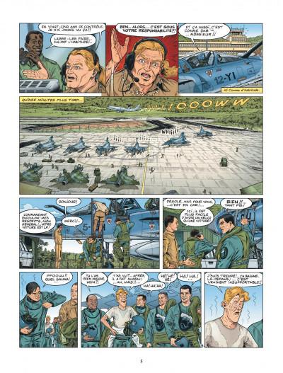 Page 5 Les chevaliers du ciel Tanguy et Laverdure tome 3