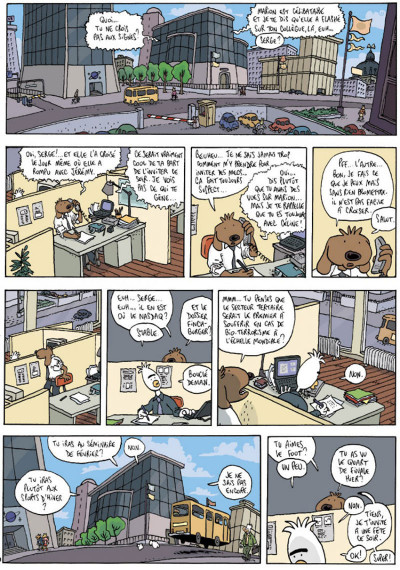 Page 1 Les aventures extraordinaires de lapinot tome 8