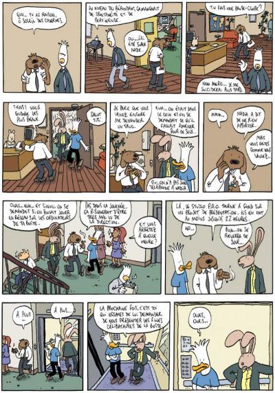 Page 3 Les aventures extraordinaires de lapinot tome 8