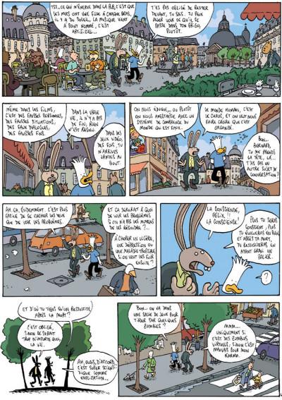 Page 4 Les aventures extraordinaires de lapinot tome 8
