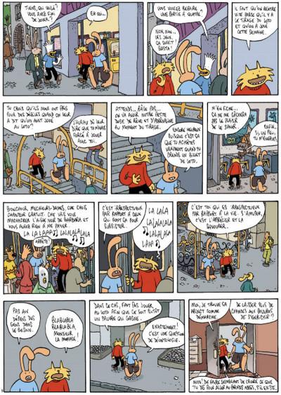 Page 5 Les aventures extraordinaires de lapinot tome 8