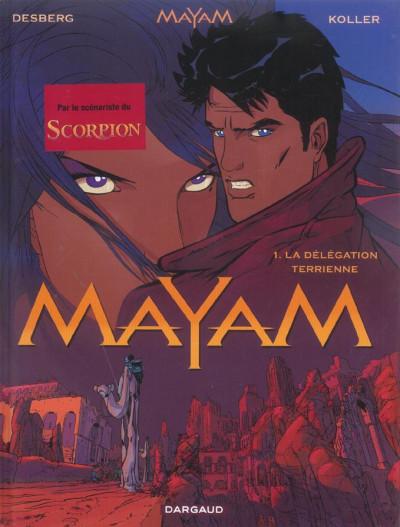 Couverture Mayam tome 1 - La Délégation terrienne