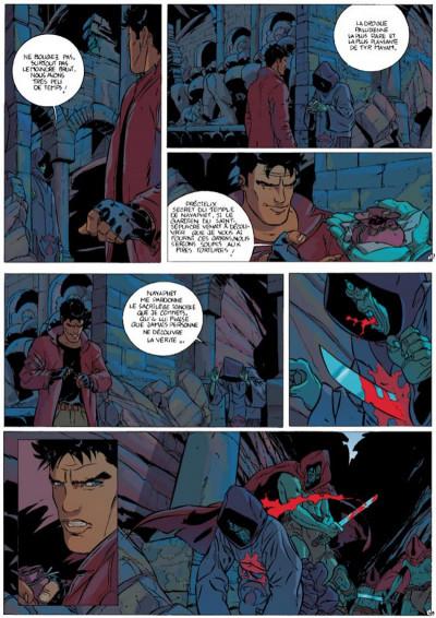 Page 3 Mayam tome 1 - La Délégation terrienne