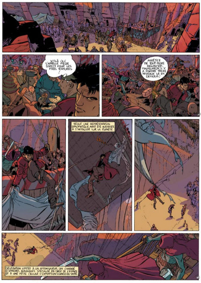 Page 5 Mayam tome 1 - La Délégation terrienne