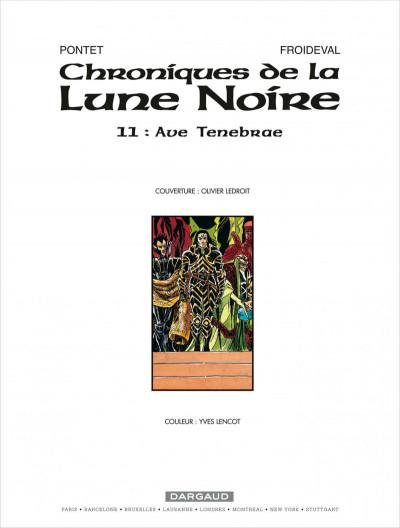Page 3 Chroniques de la lune noire tome 11 - ave tenebrae