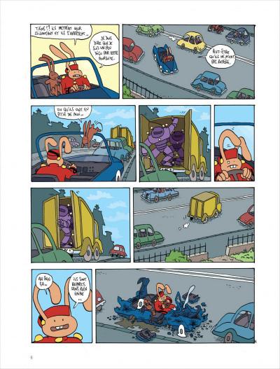 Page 6 Les aventures extraordinaires de lapinot tome 9