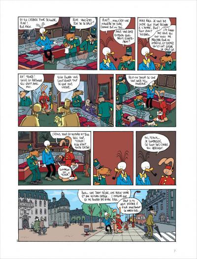 Page 7 Les aventures extraordinaires de lapinot tome 9