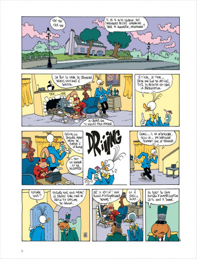 Page 8 Les aventures extraordinaires de lapinot tome 9