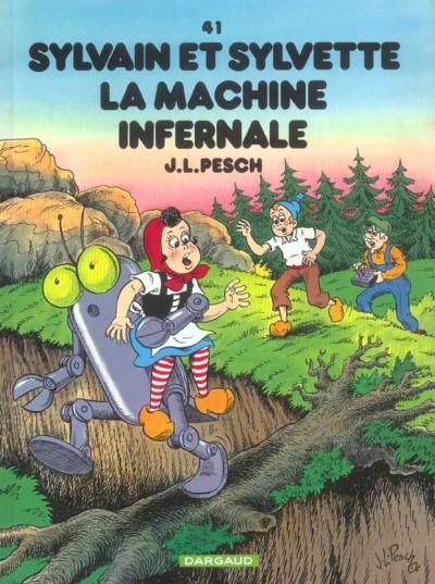 image de Sylvain et sylvette tome 41 - la machine infernale
