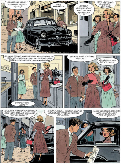Page 4 Agence hardy tome 3 - le poison rouge