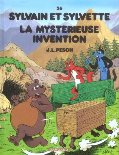 image de Sylvain et sylvette tome 36 - la mystérieuse invention