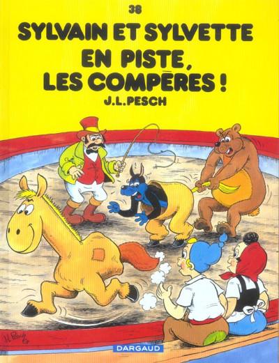 image de Sylvain et sylvette tome 38 - en piste, les compères !