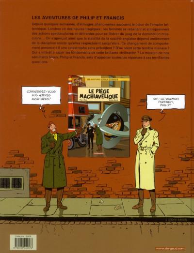 Dos Les aventures de Philip et Francis tome 1