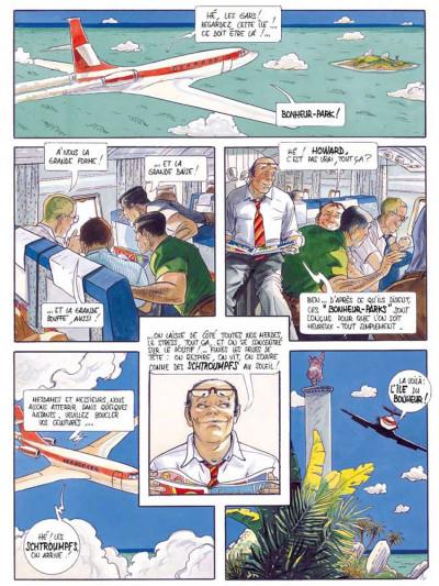Page 1 La voix des anges tome 3 - bonheur park