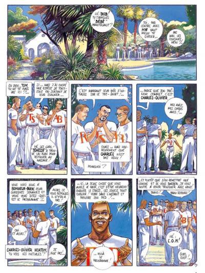 Page 3 La voix des anges tome 3 - bonheur park
