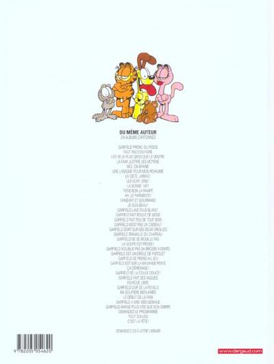 Dos Garfield tome 37 - c'est la fête !
