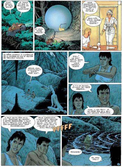 Page 2 Bételgeuse tome 4 - les cavernes