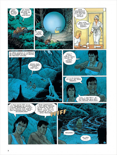 Page 5 Bételgeuse tome 4 - les cavernes