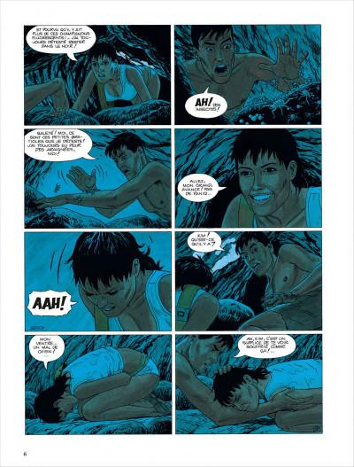 Page 7 Bételgeuse tome 4 - les cavernes