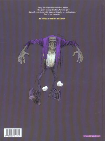 Dos Igor et les monstres tome 3 - l'homme qui murmurait à l'oreille des monstres