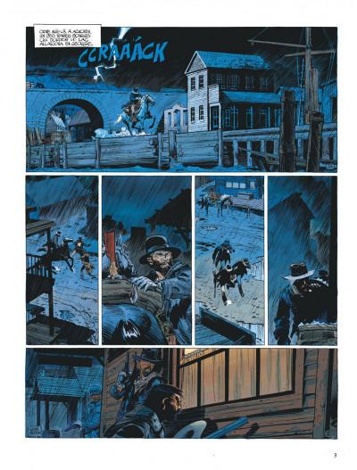 Page 3 La jeunesse de blueberry tome 7 - la poursuite impitoyable